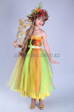 Карнавальные костюмы для осеннего бала. Времена года. Флора.