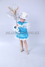 1108. Снеговик голубой