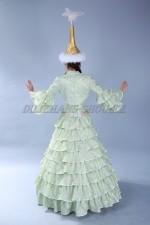 2031 Казахское национальное платье