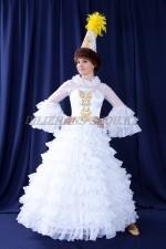 2022 Женский казахский национальный костюм