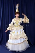 2034 Женский казахский национальный костюм