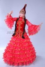2053. Казахский национальный женский костюм