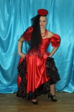 2299. Испанский костюм женский
