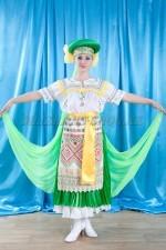 2219 белорусский национальный костюм женский