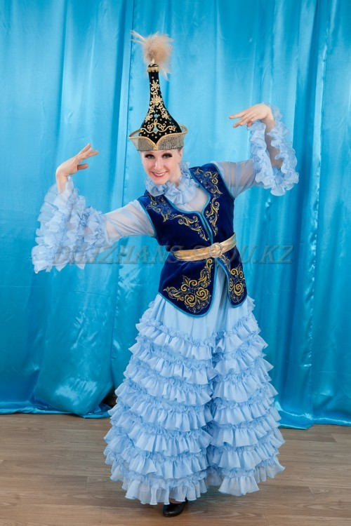 Казахский Женский Национальный Костюм