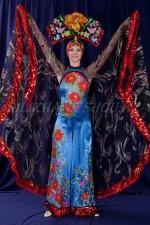 2172 китайский костюм женский (Бабочка)