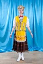 2288. Женский прибалтийский народный костюм