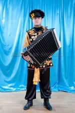 2068. Хохлома. Мужской русский народный костюм.