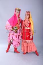 2101. Женские национальные татарские костюмы