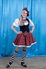 2195. Шотландский национальный костюм женский