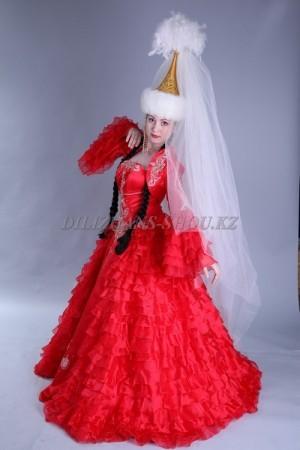Казахские свадебные платья на <strong>Кыз узату</strong>