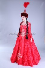 2554. Свадебное платье на Кыз Узату