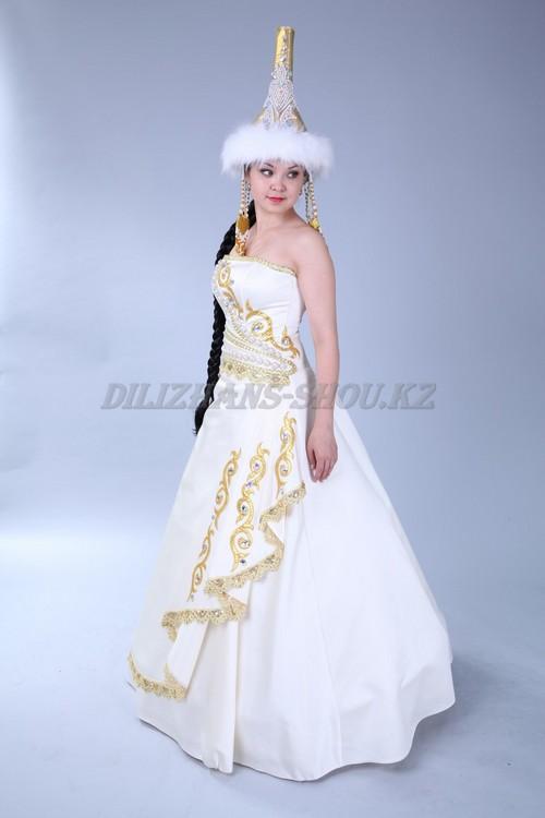 Казахское свадебные платья