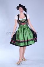 2094. Женский национальный баварский костюм