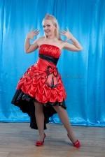 2502 коктейльное платье