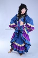 2283. Цыганский национальный костюм женский