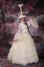 2520. Свадебное платье на Кыз Узату