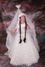 2518. Свадебное платье на Кыз Узату