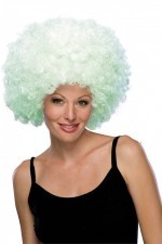 1583. парик белый светящийся