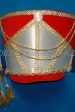 1747. Головной убор гусара - кивер красный