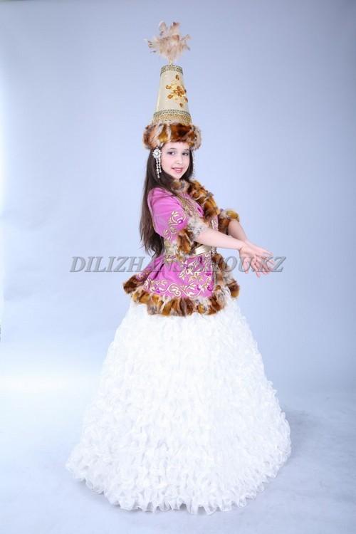 Казахское национальные платья