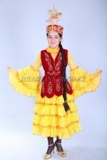 0076. Казахский национальный костюм для девочек
