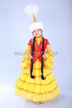 Казахский национальный костюм для девочек