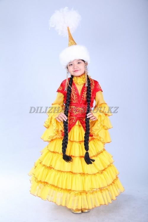Казахские костюмы для девочек сшить своими руками 26