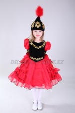 0086. Казахский национальный костюм