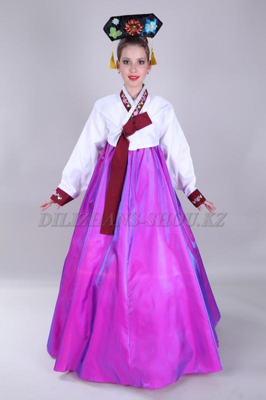 Национальное платья корейские