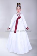 2134 Подростковый костюм ханбок белый