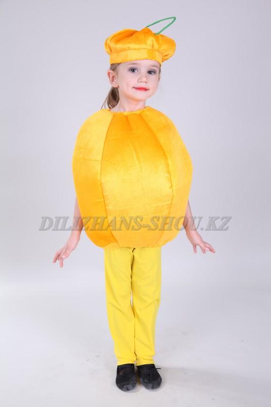 Детский костюм овощи и фрукты своими руками 3