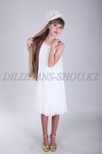 Бальное платье средней длины