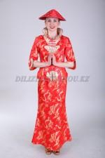 2179. Китайский женский национальный костюм