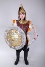 Костюм батыра для мальчика с мехом