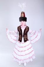 0078. Казахский национальный костюм для девочек
