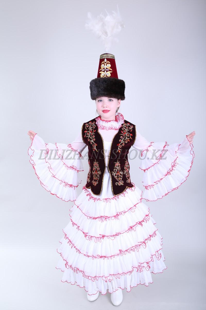 Казахский национальный костюм сшить 78