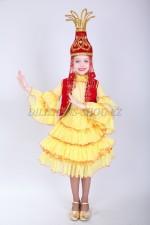 0073. Казахский национальный костюм для девочек