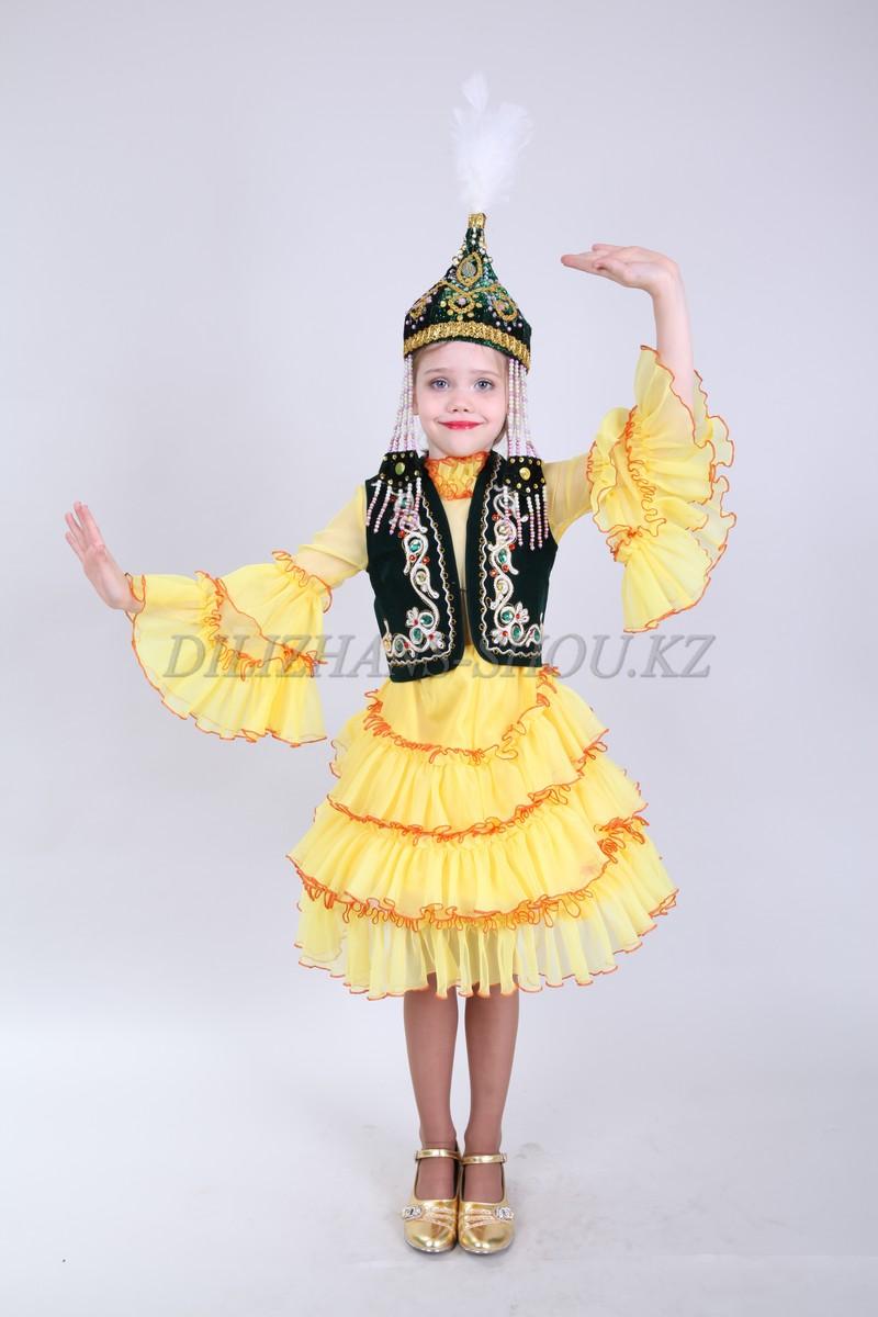 Казахский костюм для девочки своими руками