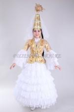 2024 Казахский женский национальный костюм