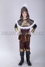 Казахский костюм батыр для мальчика