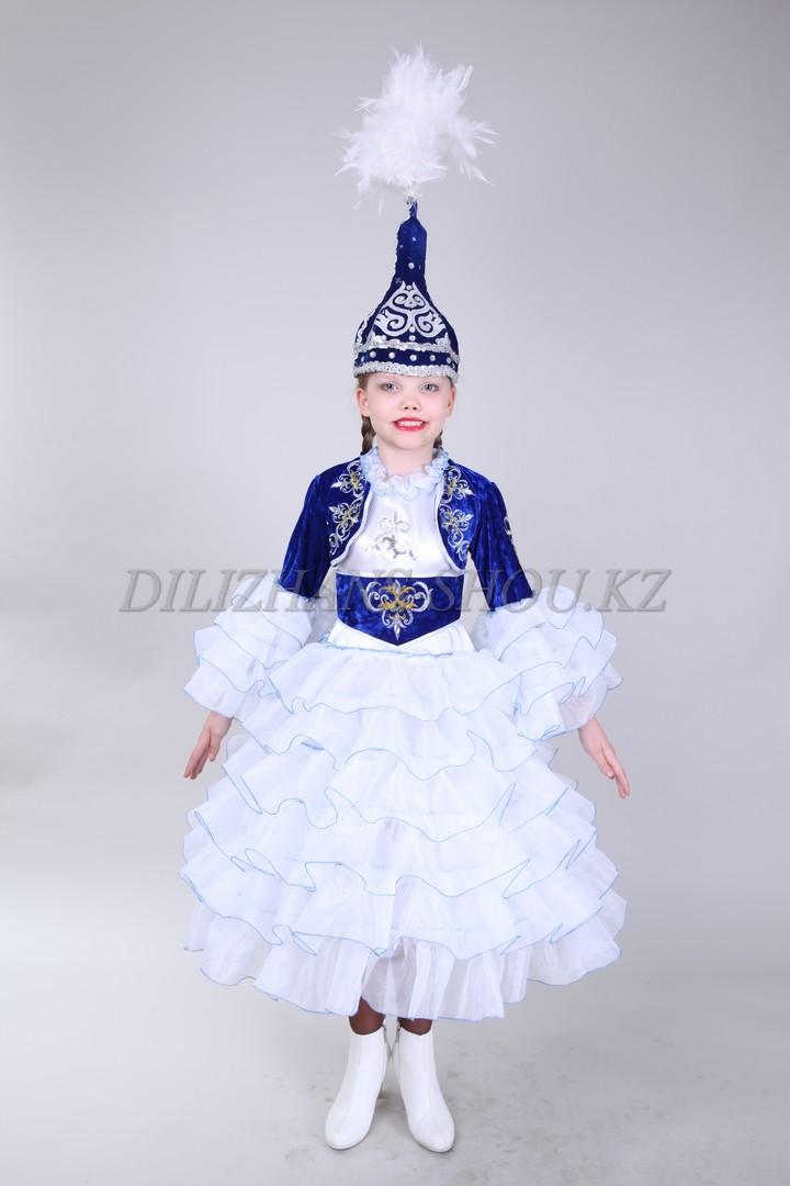 Казахские костюмы для девочек сшить своими руками 15