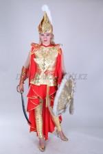 2058. Казахский стилизованный костюм томирис