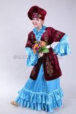 2105 Женский татарский национальный костюм
