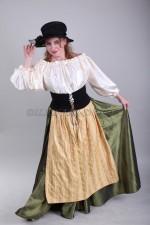 2096 Женский национальный баварский костюм