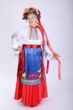 33558. Гапуся. Украинский народный большого размера.