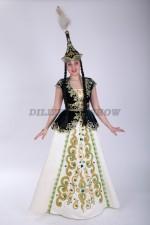 33575. Казахский стилизованный - шестиклинка