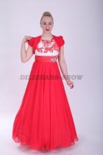 33580. Платье Камила в красном