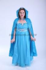3799. Принцесса Эльза в голубой накидке