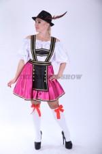 4012. Дириндль. Немецкий современный короткий костюм.